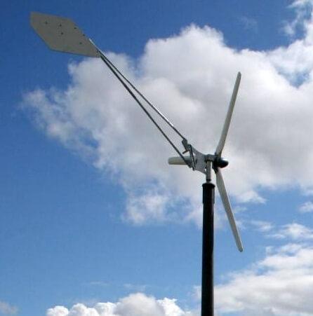 geluid kleine windmolen