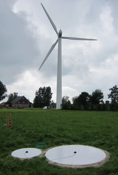 geluidsmeting windturbine