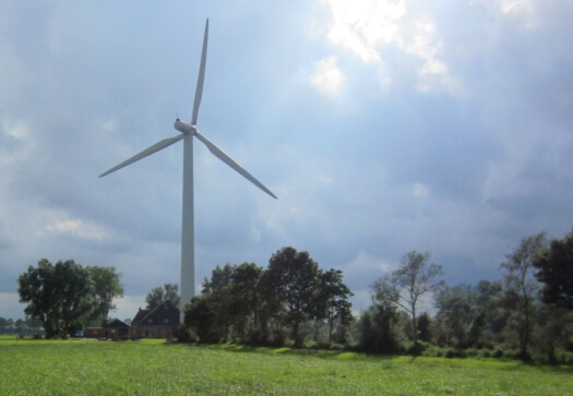 geluidsmeting windmolen