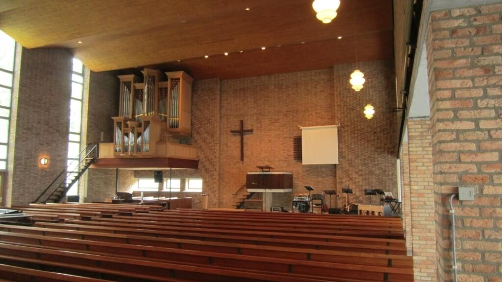 Binnenakoestiek kerk Veendam