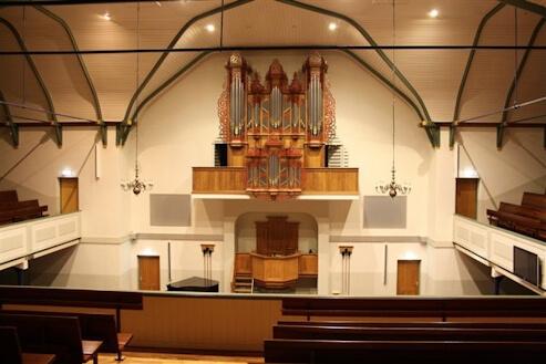 Binnenakoestiek kerk Assen