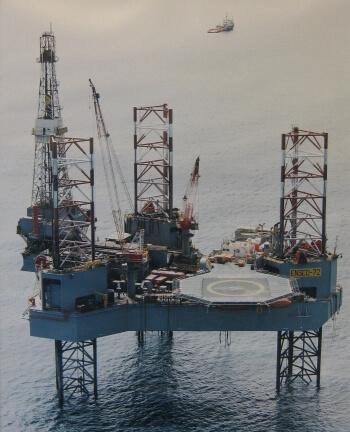 NAM offshore: effect van boren meten
