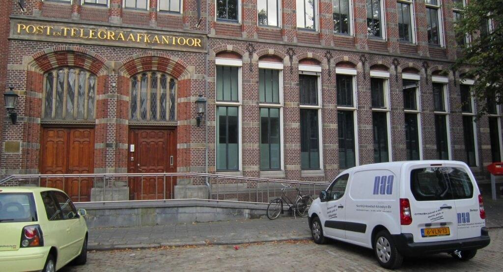 Geluidsmetingen Post Plaza in Leeuwarden