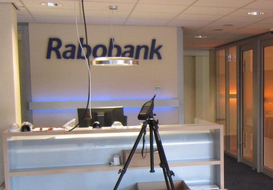Berekening geluid arbeidsplaats Rabobank