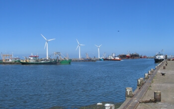 Luchtkwaliteit van haven Lauwersoog