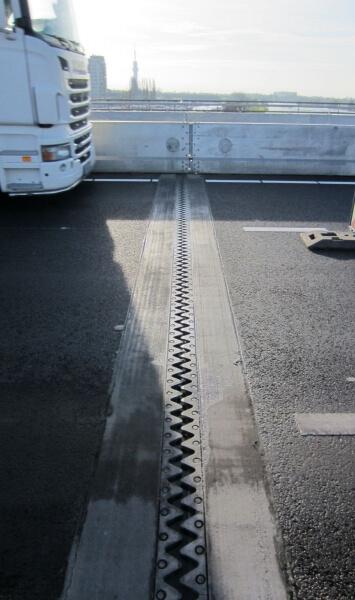 verkeerslawaai voegovergang