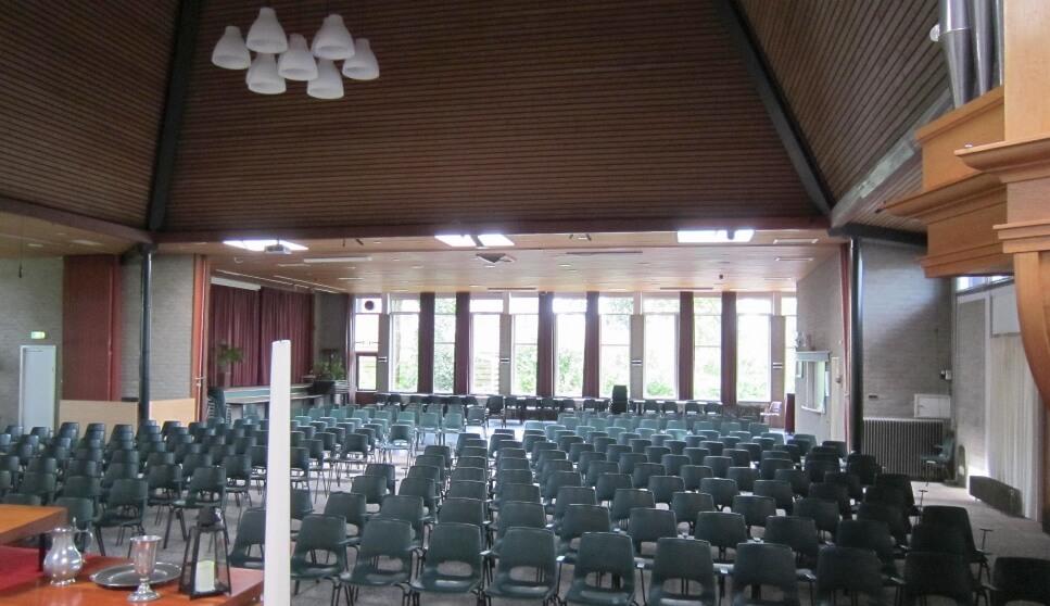 Binnenakoestiek kerk Voorhof Westerbork