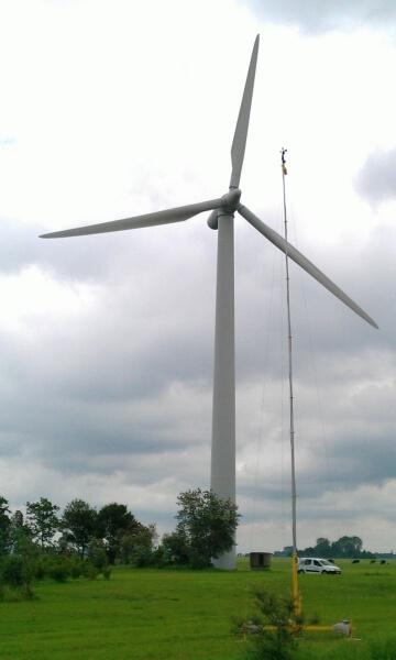Berekening geluidssituatie en slagschaduw windmolenpark
