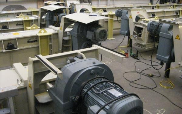 Geluidsmetingen machines volgens richtlijnen