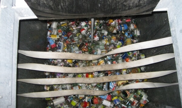 Overlast van een glascontainer